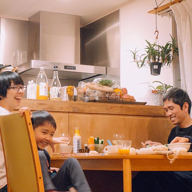 かぞくの食卓 手巻き寿司パーティー編