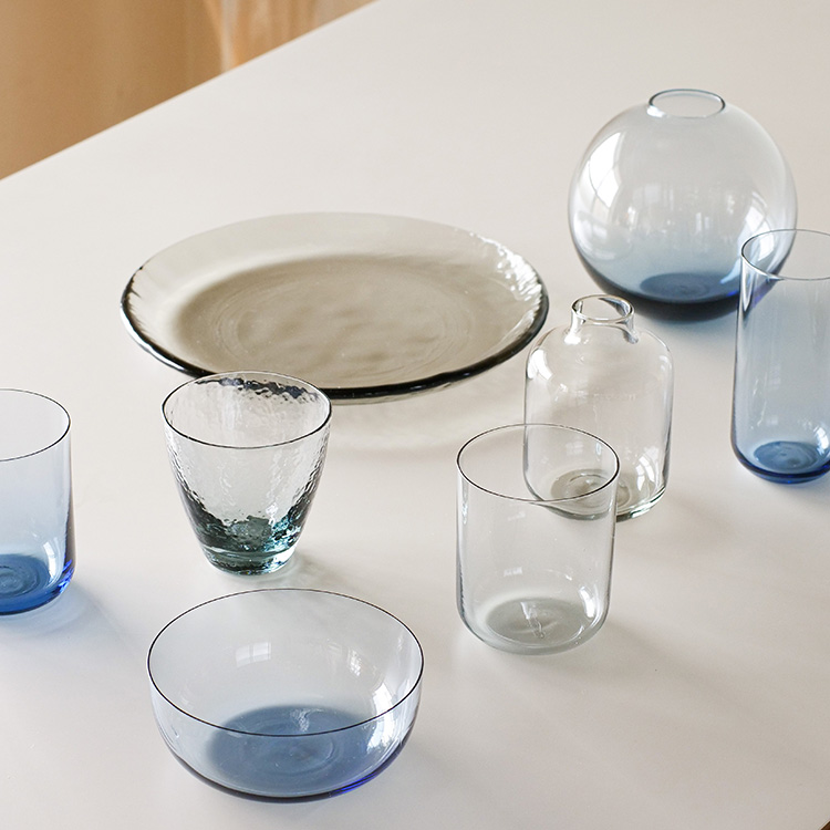 スガハラのリサイクルガラス