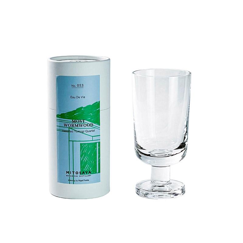 mitosaya × Sghr:蒸留酒 MOST WORMWOOD 1本+ELTB GLASS 1客 セット GIFT